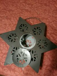 gray and black star candle holder Corpus Christi, 78412