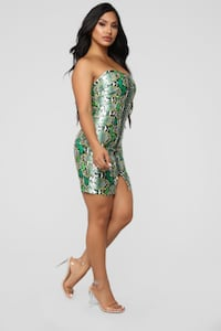 Fashion Nova Snake Skin Dress Langley