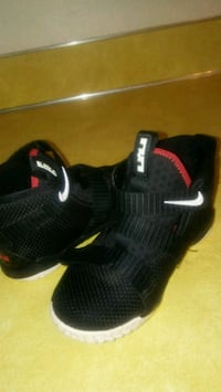 pair of black Nike basketball shoes Ames, 50010