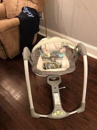 Ingenuity Smart bouncer/ rocker smart phone compatible