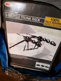 NEW IN BOX 3 bicycle trunk rack