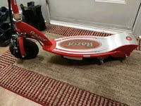 red and silver Razor electric scooter Markham, L3T 5J3