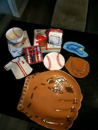 Baseball Party Set! Never been used! Vaughan, L6A 0K1