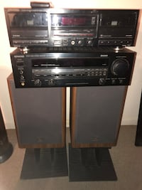 Receiver , Cassette Deck , Speakers. Annapolis, 21401
