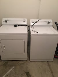 white washer and dryer set Westover, 35147