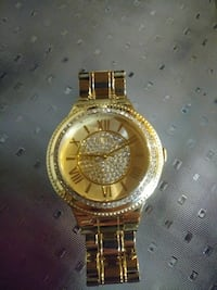 Gold and Diamond Guess brand watch Lindsay, K9V 4R5