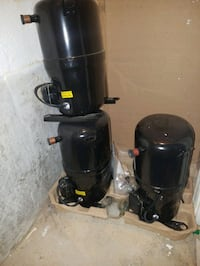 $75 each.  1-3 ton a/c compresors. R-22.   R-410a Rockville, 20853