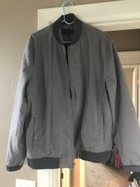 Gray zip-up jacket Oklahoma City, 73170