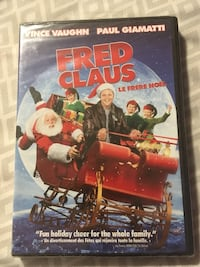 Fred Claus kids Christmas dvd Calgary, T2A 6R8