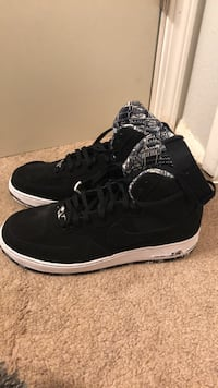 Rare air force 1 hightop black size 13  brand new