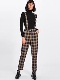 Super cute suspender pants! Wore once. Size M Chantilly, 20152