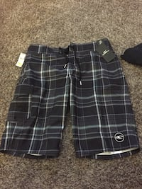 Black and white plaid shorts Rancho Cucamonga, 91739