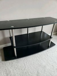 black wooden 3-layer TV stand Arlington, 22202