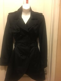 BEBE Black button-up coat USED  Bellflower, 90706