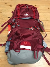 Backpack High Sierra tech 2 series 45 frame 45L New never been used Montréal, H2S
