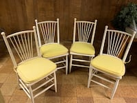 4 chairs with cushions Little Silver, 07739