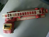 red and gray fire truck toy Valrico, 33594