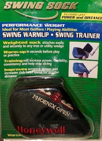 Golf Swing Warm-up trainer (weighted) New Sealed Package Springfield, 65802