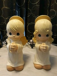 Precious Moments Praying Boy And Girl Angels  Mount Wolf