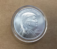 .999 Silver Donald Tump coin with the White House on reverse Surrey, V3Z 4P5