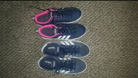 pair of blue Nike low-top sneakers Pilot Butte, S0G