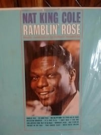 Nat King Cole Ramblin' Rose memorabilia plaque