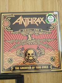 Anthrax - The Greater Of Two Evils Plak Metal 2Lp 19 Mayıs Mahallesi, 34360