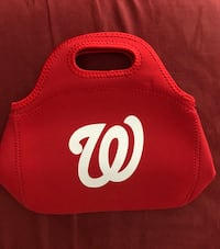 2 Small Nationals lunch bag Arlington