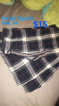 black, white, and gray plaid shorts Belleville, K8N 3B9