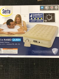 Serta 15 in Raised Queen inflatable Mattress Knoxville, 37919