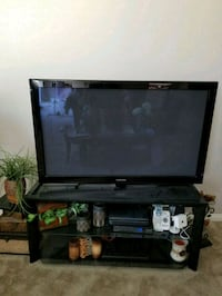 Black TV stand only  Bakersfield