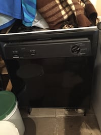 black electric dishwasher Barrie, L4N 4V4