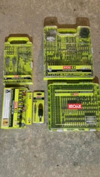 Router bits/drill bits & drivers/ $80 firm