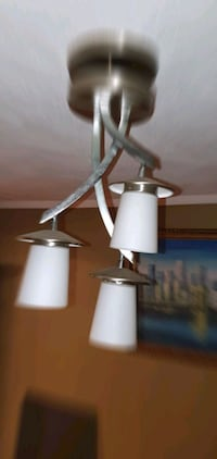 Led contemporary dining light