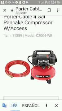 red and black Craftsman pressure washer Lincolnia, 22312