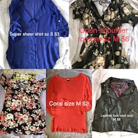 Women's assorted clothes Chesapeake, 23322