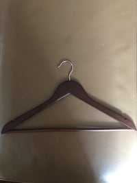 Selling 80 Wooden Hangers for $75.00 or best offer! Toronto, M3K 1K4