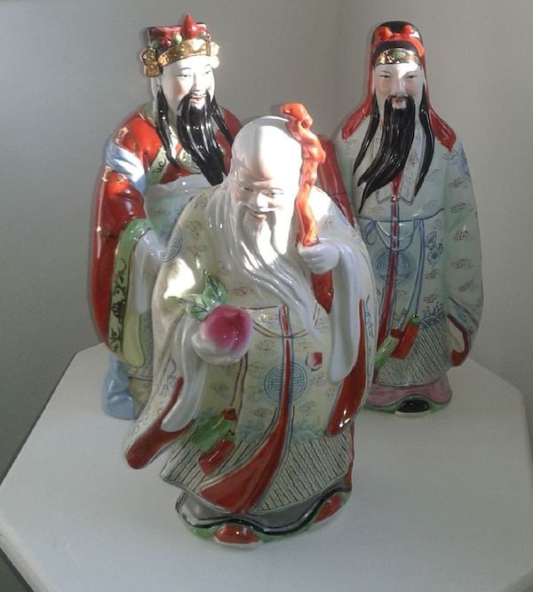 vintage Chinese good luck figurines