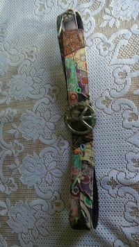 70's Belt with Peace Symbol Buckle Courtice, L1E 2W2