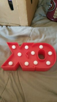 XO light up decoration San Jose, 95111