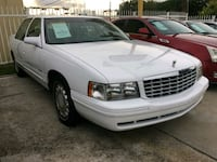 1997 CADILLAC DEVILLE ONE OWNER 50k miles Houston