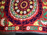 Beautiful textile handmade tapestry from Uzbekistan