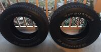 2 Firstone Transforce AT tires HAGERSTOWN