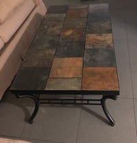 Slate coffee table and side tables North Miami Beach, 33162