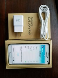 white Samsung Galaxy S5 with box Alexandria, 22310