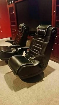 Gaming swivel rocker chair set Bowie