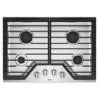 Whirlpool Built in Gas Stove Top 30""