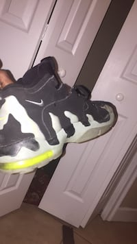 pair of black-and-white Nike basketball shoes Ocala, 34476