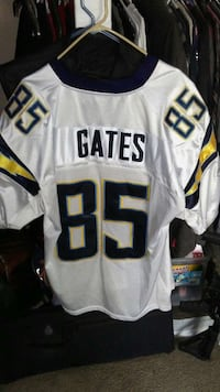white, black, and yellow gates 85 hockey jersey Oceanside, 92058