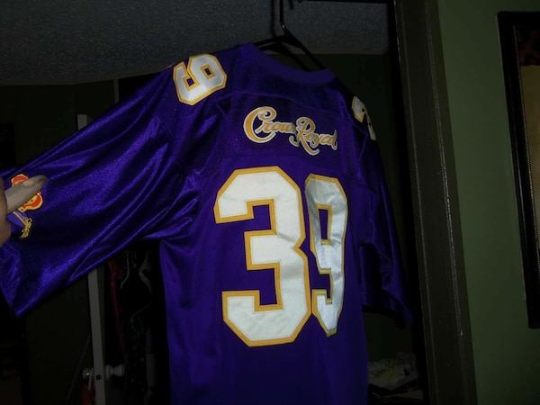 Used blue and white Crown Royal 39 jersey shirt for sale in Henderson -  letgo 9416efce8